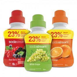 Sodastream Sada Orange/Víno/Red Ber 750 ml