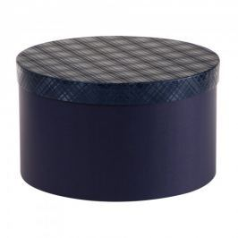 Dárková krabice Lucie 3, tmavě modrá kára - 34,5x20 cm Dárkové krabičky