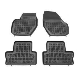 REZAW-PLAST Gumové koberce, černé, sada 4 ks (2x přední, 2x zadní), Volvo S60 II od r. 2010, V60 od r. 2011, XC60 od r. 2008