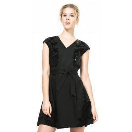 Desigual dámské šaty 36 černá