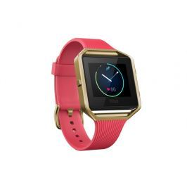 Fitbit Blaze,Tapered Pink/Gold, Small