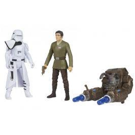 Star Wars E7 set figurek – 2ND HB officer a Blue SQ leader