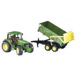 Bruder John Deere traktor 6920 s vyklápěcím přívěsem