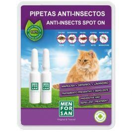 Menforsan Antiparazitní pipeta pro kočky 2ks