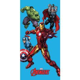 Jerry Fabrics osuška Avengers 2015, 75x150 cm