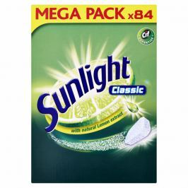 Sunlight Classic Tablety do myčky nádobí 84 ks