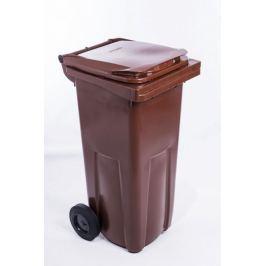 J.A.D. TOOLS popelnice 120 l hnědá plastová