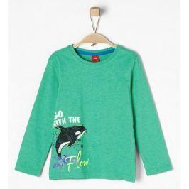 s.Oliver chlapecké tričko 92 - 98 zelená