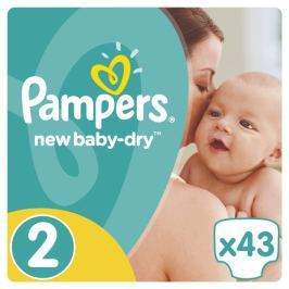 Pampers New Baby Carry Pack S2 43ks