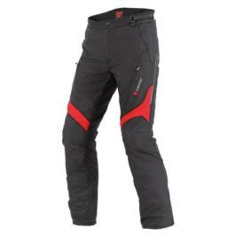 Dainese pánské kalhoty TEMPEST D-DRY vel.56 černá/červená, textil