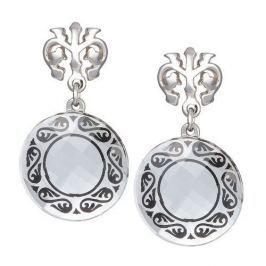 Preciosa Náušnice Magical Ornament čiré 6027 20 stříbro 925/1000