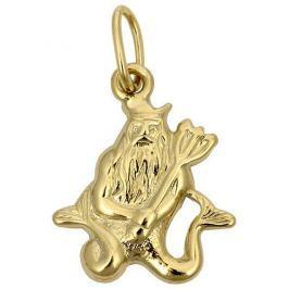 Brilio Zlatý přívěsek Vodnář 241 001 00808 - 0,40 g zlato žluté 585/1000