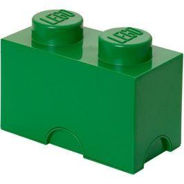LEGO Úložný box 125x250x180 mm tmavě zelená