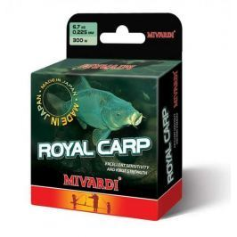 MIVARDI Vlasec Royal Carp Brown 5000 m 0,255 mm, 8,3 kg
