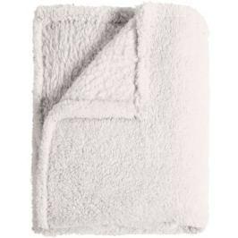 Mistral Home Pléd Sherpa 130x170 cm, bílá