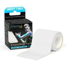 BronVit  Sport Kinesiology tape Uncut 1m x 5cm - bílá
