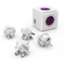 PowerCube ReWirable USB + Travel Plugs