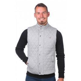 Gant pánská vesta L šedá