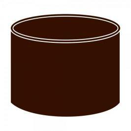 LanitPlast Spojka kolen DN 105 hnědá barva