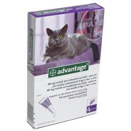 Bayer ADVANTAGE Spot-on Cat 4x0,8ml (pro kočky 4kg a více)