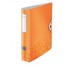 Mobilní pořadač Leitz 180° ACTIVE WOW A4 6,5 cm metalicky oranžový