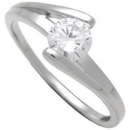 Brilio Silver Stříbrný zásnubní prsten 7111048 (Obvod 58 mm) stříbro 925/1000