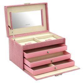 Friedrich Lederwaren Šperkovnice růžová Jolie 23254-48