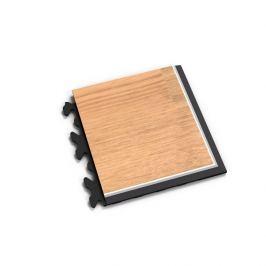 Fortelock Hnědý vinylový rohový nájezd