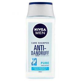Nivea Pečující šampon proti lupúm pro muže Pure (Anti Dandruff Shampoo) 250 ml