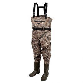 ProLogic Prsačky Max5 Nylo-Stretch Chest Waders W/Cleated Sole 40-41
