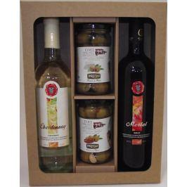 Párování vína s olivami - dárková kazeta