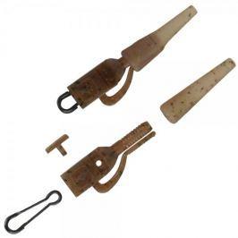 ProLogic Závěsky Mimicry Flat Leadclip & Tailrubber With Speed Link 10 ks