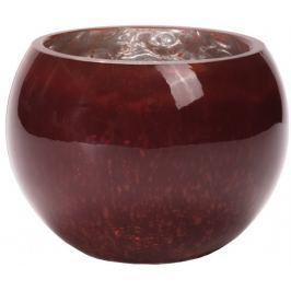 Wittkemper Svícen na čajovou svíčku červený, 12 cm