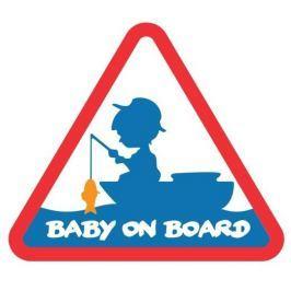 Delphin Nálepka Baby On Board
