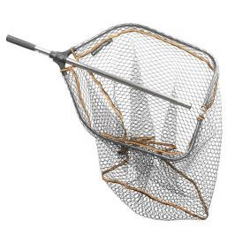 Savage Gear Podběrák Pro Folding Rubber Large Mesh Folding 65x50 cm