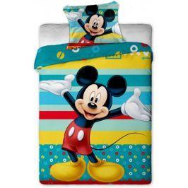 Jerry Fabrics povlečení Mickey tyrkys