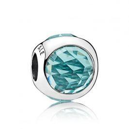 Pandora Luxusní ledově zelený přívěsek 792095NIC stříbro 925/1000