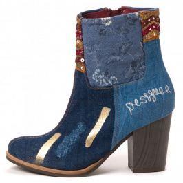 Desigual dámská kotníčková obuv 38 modrá