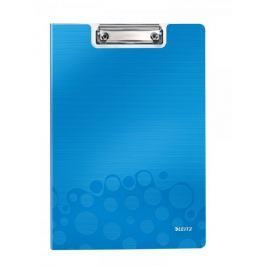 Podložka na psaní se zakrývací deskou Leitz WOW metalicky modrá