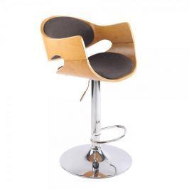 BHM Germany Barová židle Allia textil, tmavě šedá
