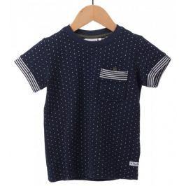 Primigi chlapecké tričko 128 tmavě modrá