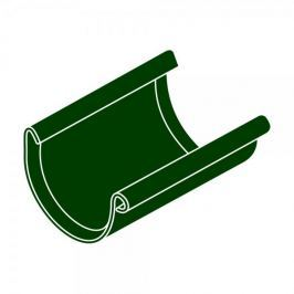 LanitPlast Spojka žlabu RG 125 půlkulatá zelená barva