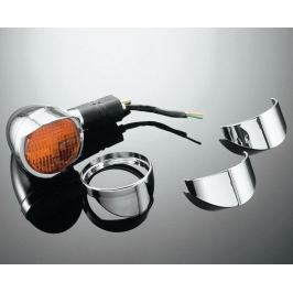 Highway-Hawk štítky na originální blinkry pro motocykly SUZUKI VL1500/VL800/M800/C800/VZ1600 (2ks)