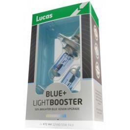 Lucas LightBooster H4 12V 60/55W +50% Blue 2ks