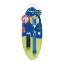 Pelikan Inkoustový roller pro leváky Griffix 3 modrý
