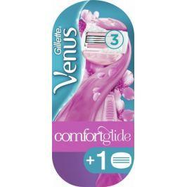 Gillette Venus Comfort Glide holící strojek + 1 náhradní hlavice