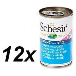 Schesir Konzerva Kitten tuňák + aloe 12 x 140g