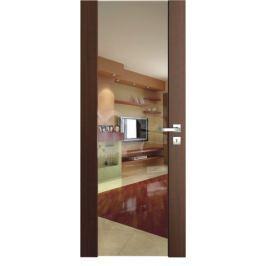 VASCO DOORS Interiérové dveře VENTURA ČIRÉ sklo, Bílá, A
