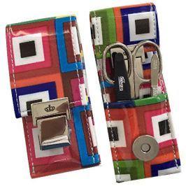 DuKaS Cestovní manikúrová sada 3 dílná barevná PL8638
