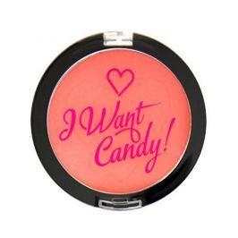 Makeup Revolution Tvářenka I Heart Makeup (Blush I Want Candy) 3 g (Odstín Cukrovinky prosím!)